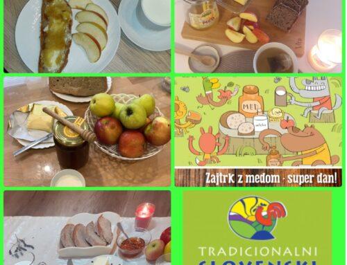 Traditional Slovenian Breakfast